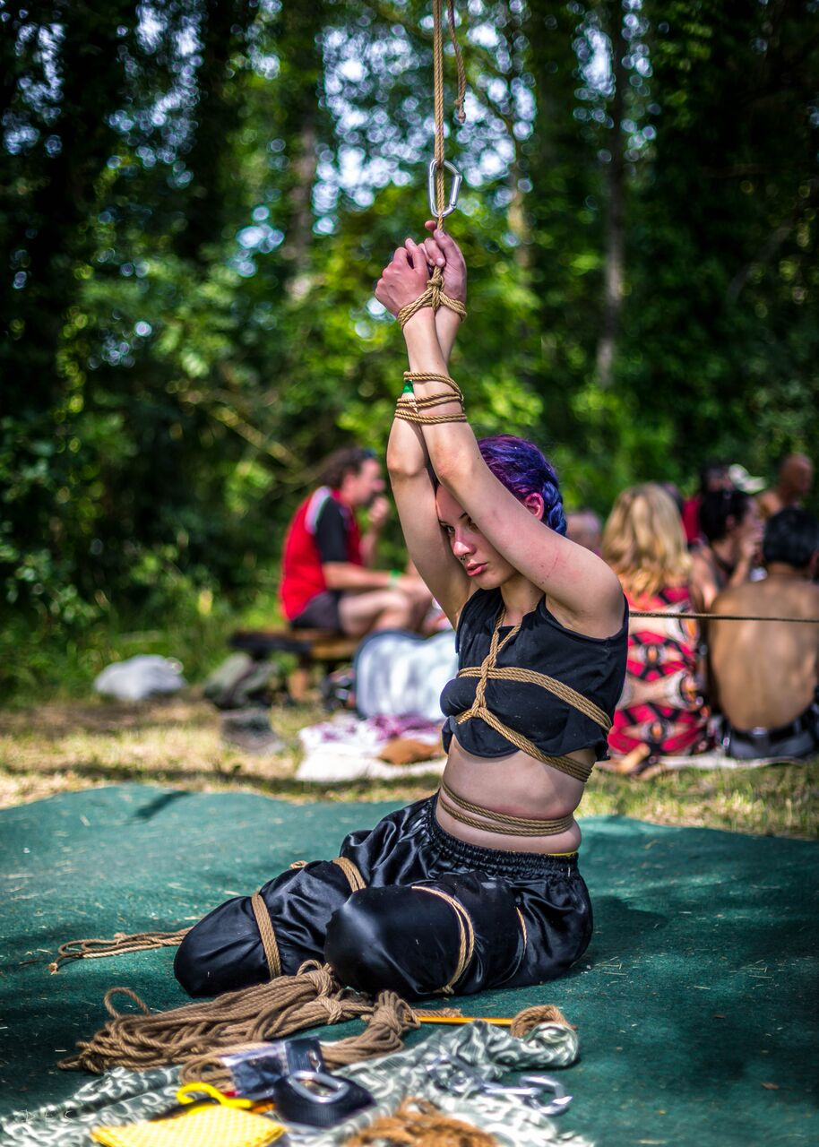 Sazkya au ropecamp 2017 ; photo by Ophydiann